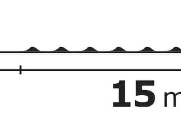 Vánoční osvětlení EMOS 150 LED, 15m, řetěz zelený (miniaturní), teplá bílá, časovač, i venkovní použití (1534191700)4