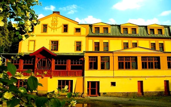 3–4denní wellness pobyt pro 2 osoby s polopenzí v hotelu Praděd Thamm*** v Jeseníkách