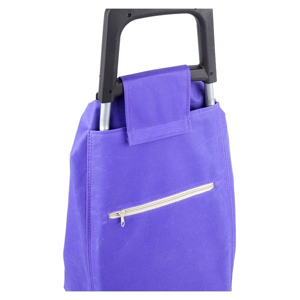 Aldo Nákupní taška na kolečkách Madrid, fialová3