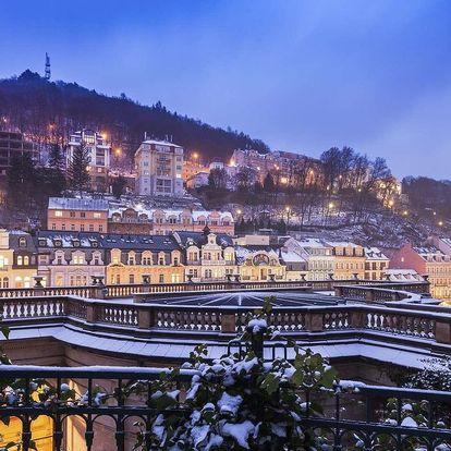 Hotel Panorama Spa Sanatorium v Karlových Varech s wellness a polopenzí