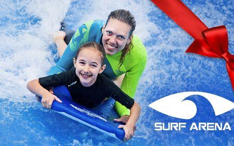 Hodina surfování na špičkovém trenažéru
