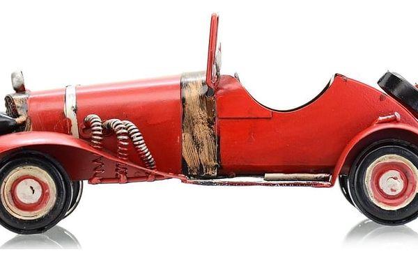 Dekorační model auta Cabrio, červená4