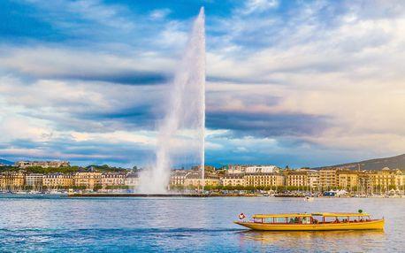 Výlet do Švýcarska: Chillon, Lausanne, Ženeva