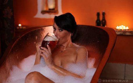 Luxusní pobyt v pivních lázních Rožnov (1 noc) + tříchodové degustační menu pro dva