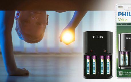 Nabíječka baterií AA a AAA značky PHILIPS
