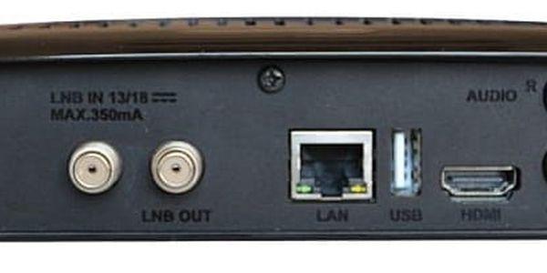 Satelitní přijímač GoSat GS7075 COMBOi HD (GS7075) černý + DOPRAVA ZDARMA4