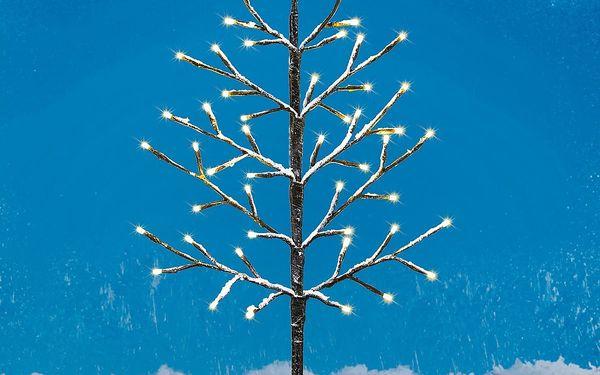 Svíticí LED stromek Pino, hnědá2