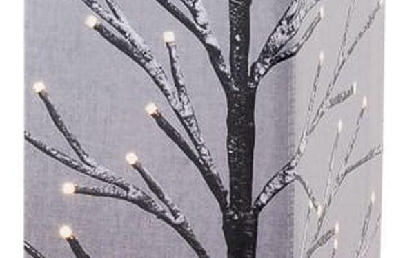 Svíticí LED stromek Pino, hnědá3