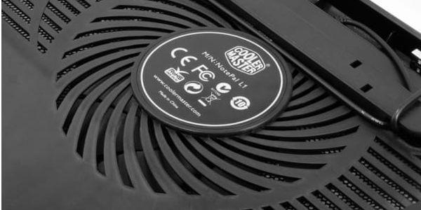"""Chladící podložka pro NTB Cooler Master NotePal L1 pro 12"""" - 17"""" (R9-NBC-NPL1-GP) černá2"""