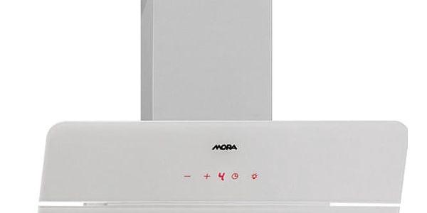 Odsavač par Mora Premium OV 685 GW bílý/sklo + DOPRAVA ZDARMA3