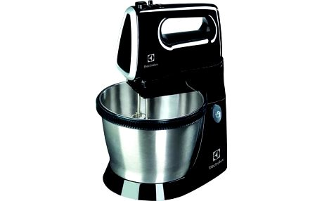 Electrolux šlehač s mísou, příkon 450W - černý - ★ SLEVA ve výši DPH - najdeš v košíku!