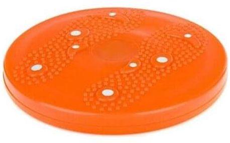 Sportwell Rotační disk s magnetem, pr. 25,5 cm