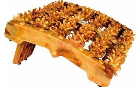 Modom Akupresurní masážní chodidlový roler Wood