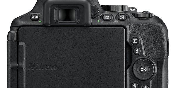 Digitální fotoaparát Nikon D5600 + 18-140 AF-S VR (VBA500K002) černý Dárkový poukaz Nikon 1000 Kč + DOPRAVA ZDARMA5