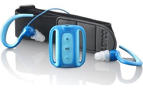 MP3 přehrávač Lenco Xemio 1000 (lx1000) modrý