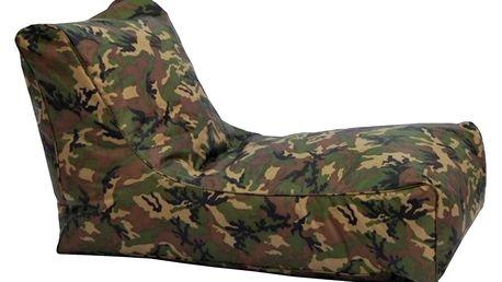 Sedací křeslo LOUNGE army V6