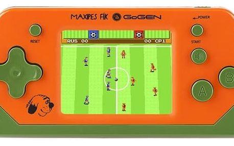 Herní konzole GoGEN Maxipes Fík MAXIHRY 80 O oranžová