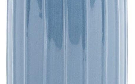 Elegantní váza Ivy modrá, 28 cm