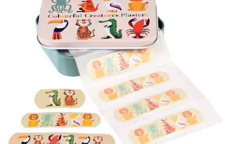 Sada náplastí v krabičce Rex London Colourful Creatures