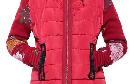 Desigual červená multifunkční bunda Salva