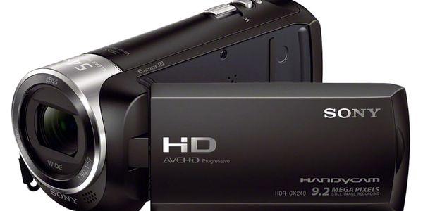 Videokamera Sony HDR-CX240E černá2