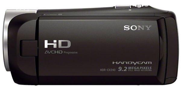 Videokamera Sony HDR-CX240E černá3