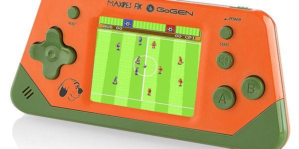 Herní konzole GoGEN Maxipes Fík MAXIHRY 80 O oranžová5