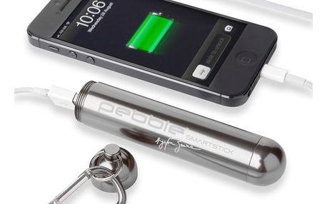 Cestovní nabíječka Pebble Smartstick VPP-004, titan