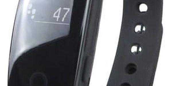 Fitness náramek Umax U-Band 107HR (UB501) černý