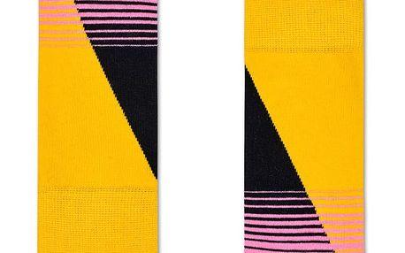 Happy Socks pruhované dámské ponožky Eighties