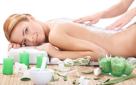 Kokosová/konopná masáž, možnost masáže obličeje a dekoltu