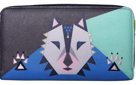 Disaster Designs barevná peněženka Dakota Wolf