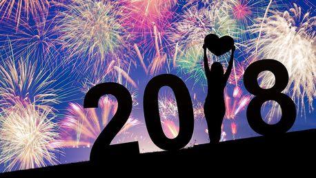 Novoroční ohňostrojový mega set 384 ran o délce přes 4 minuty