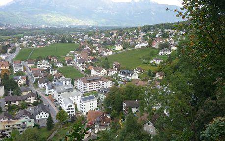 3denní výlet do Lichtenštejnského knížectví, Německa a Rakouska