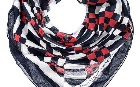 Tommy Hilfiger dámský šátek Geo Check