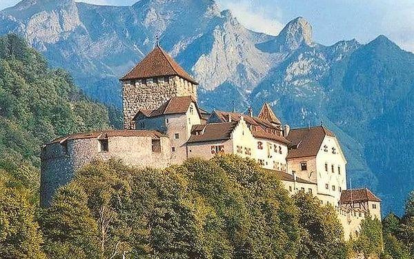 Lichtenštejnské knížectví + město Bregenz v Rakousku a Lindau v Německu, 3denní výlet z Prahy pro 1 osobu5