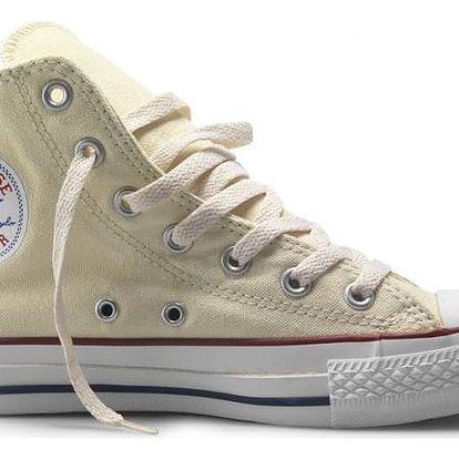 Kotníkové boty Converse CHUCK TAYLOR ALL STAR HI Cream 39,5