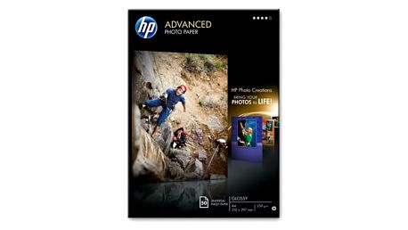 HP Advanced Glossy Photo Paper-50 sht/A4/210 x 297 mm, 250 g/m2,