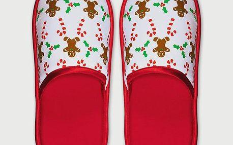 Pantofle Slippsy Gingy Červená