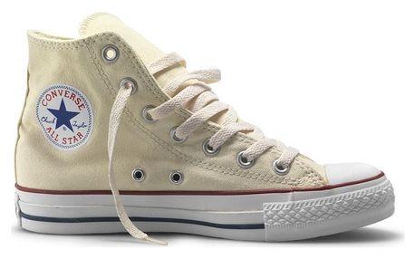 Kotníkové boty Converse CHUCK TAYLOR ALL STAR HI Cream 37