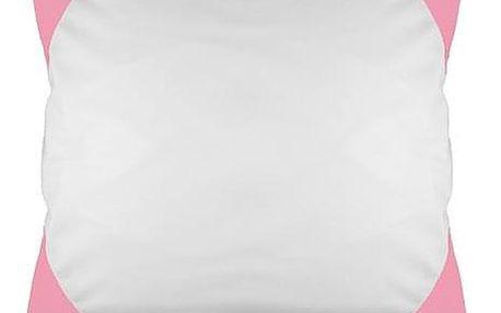 Povlak na polštář FUNKY, růžový 40x40 cm