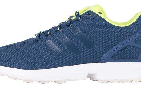 Tmavě modré unisex tenisky adidas Originals ZX Flux