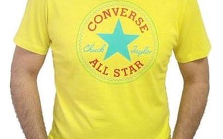 Pánské tričko Converse Core SeaSonal cp Tee žlutá S