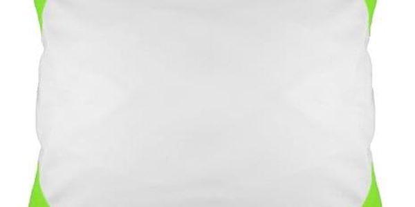 Povlak na polštář FUNKY, světle zelený 40x40 cm