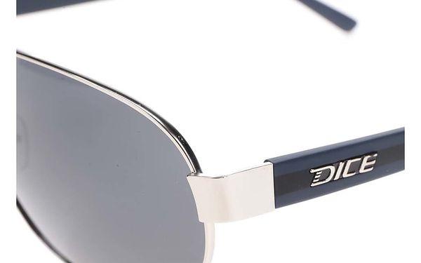 Černé pánské sluneční brýle Dice4