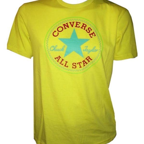 Pánské tričko Converse Core SeaSonal cp Tee žlutá S2