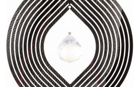 Závěsná dekorace Cosmo Spinner ovál s krystalkem
