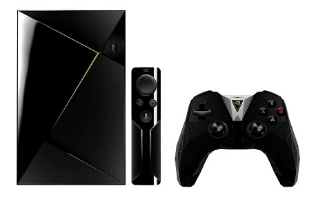 Herní konzole NVIDIA SHIELD TV + Controller + dálkové ovládaní