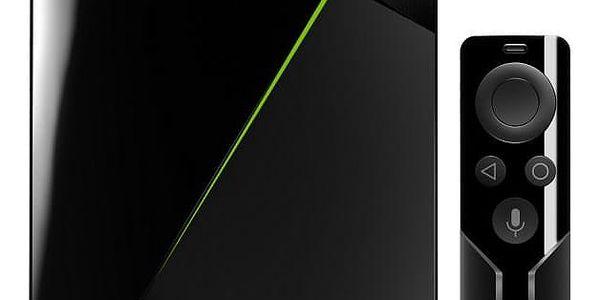Herní konzole NVIDIA SHIELD TV + dálkové ovládaní