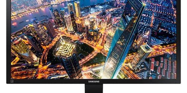 Monitor Samsung U28E590 (LU28E590DS/EN) černý Software F-Secure SAFE 6 měsíců pro 3 zařízení v hodnotě 979 Kč + DOPRAVA ZDARMA